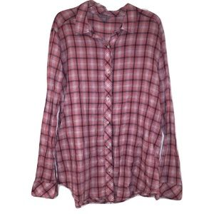Rubbish Tops - [2 for 20] Rubbish plaid button up shirt L